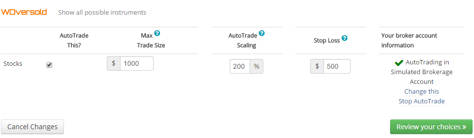 Collective2 AutoTrading - Following Strategies