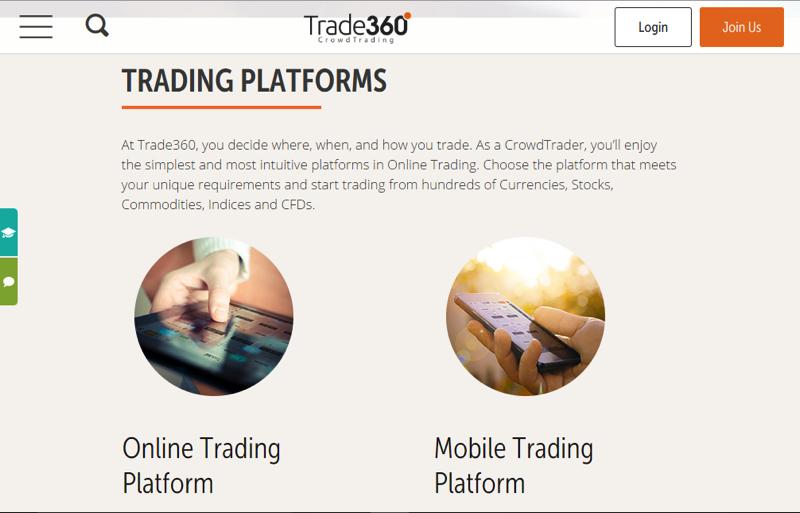trade360 platforms