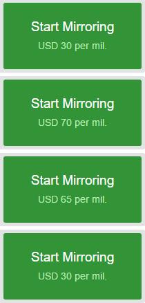 cmirror image fees
