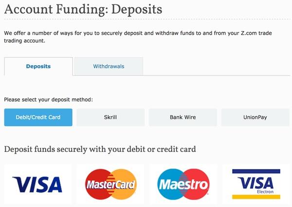 Z.com deposits