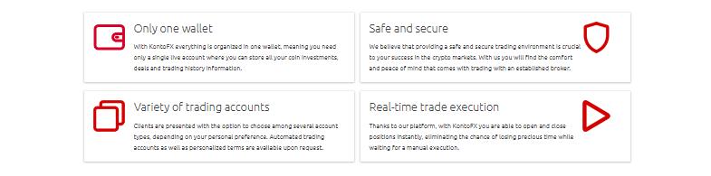 benefits at KontoFX